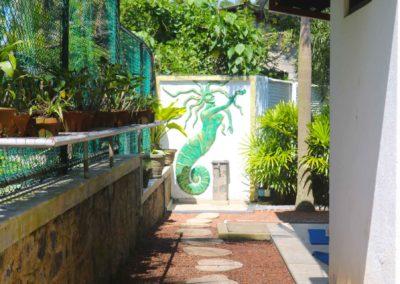 Villa Svara kosgoda gallery back garden 1