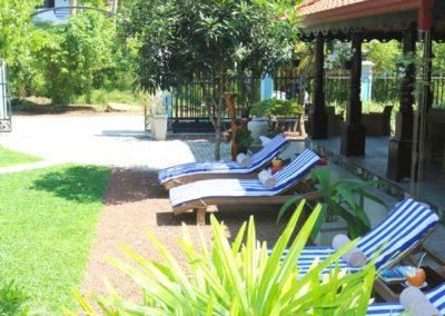 Villa Svara - Gallery - Font Garden Sunbeds